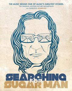 Searching for Sugar Man Movie Art Deco Poster Wall Fabric Canvas 3301