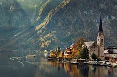 Hallstatt, Austria, from Imgur