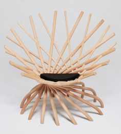 Nest Chair by Markus Johansson Dream Furniture, Classic Furniture, Unique Furniture, Furniture Design, Furniture Chairs, Nest Furniture, Ikea Chairs, Furniture Repair, Upholstered Chairs