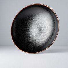 Large serving bowl from collection Tenmokku is very practical and interesting piece for your table. Brown Line, Simple Designs, Serving Bowls, Glaze, Japan, Ceramics, Pure Products, Big, Tableware