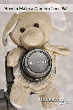 Housewife Eclectic: Camera Lens Pal- Making Kids Smile- A tutorial