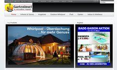 Swimspa - Whirlpools - Sauna http://www.Garteninsel.at   #swimspa #whirlpool #webdesign #website #seo #sem #homepage