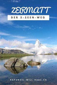 Wanderung der Superlative: Der in Zermatt – Best Travel Destinations Zermatt, Vacation Destinations, Dream Vacations, Places To Travel, Places To See, Travel Around The World, Around The Worlds, Switzerland Vacation, Travel Tags