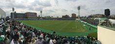 2014/10/4 松本山雅vs横浜FC パノラマ 味の素フィールド西が丘
