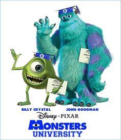 Mike e Sulley de volta!  Em 2013 será lançado 'A Universidade dos Monstros', o filme que mostrará a vida dos monstros antes de trabalharem na firma Monstros S/A , aprendendo todos os truques de como ser um bom e assustador monstro! Será bem divertido!!!  Assista ao trailer oficial : http://www.youtube.com/watch?v=KlA-qAG3VCc=share