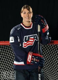 Hilary Knight - Ice Hockey  What a player!!