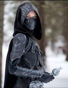 Skyrim cosplay, argh!