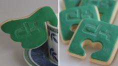 #Logo-Kekse zum Kaffee