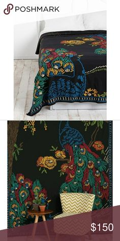 Urban Outfitters Peacock Tapestry, NWOT This is a new without tags peacock tapestry. Smoke free and pet free home. Urban Outfitters Other