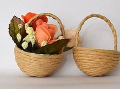 DIY Simple Mini Basket