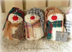 снеговик выкройка:найдено в Яндекс.Картинках