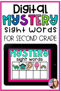 Sight words are a collection of words that students should be able to just see and know that the word. It's a great way to build fluency as your students/kids are getting ready to read!  If you are looking for a fun and digital literacy center for your kiddos, this is it! Have your students practice their sight words with this digital mystery sight word game!