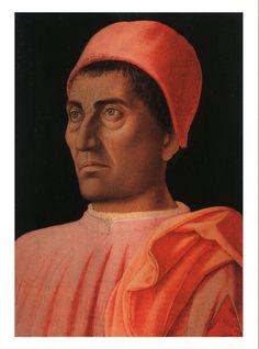 Andrea Mantegna, 1431-1506, Cardinal Carlo de'Medici, Temper on wood