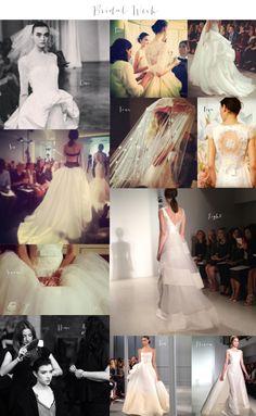 bridal market 2013 / wedding dress trends: bustles are back!