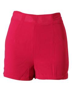 Fuschia Pink Shorts With Side Zip Detail £ 3.95 NOW £ 2.95 #ChiaraFashion #BlissfulBabi #Shorts #SS15  https://www.chiarafashion.co.uk/fuschia-pink-shorts-with-side-zip-detail.html
