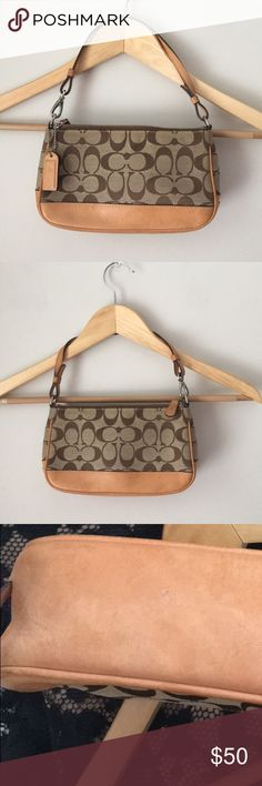 Coach Signature Demi Mini Shoulder Bag Purse Beautiful classic signature  Demi Mini Shoulder Bag Purse by 59893d91c8a96