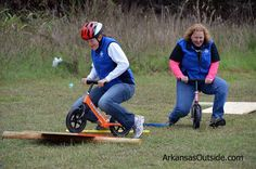Bike Rodeo obstacle course
