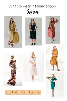 What to Wear in Fall Family Photos Fall Family Picture Outfits, Family Photo Colors, Family Photos What To Wear, Winter Family Photos, Fall Family Photo Outfits, Fall Family Portraits, Mom Outfits, Family Portrait Outfits, Beach Portraits