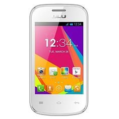 BLU Dash JR W D141w Unlocked GSM Dual-SIM Android Cell Phone - White Мои блог