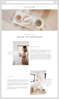 Quickly learn and build a bold, beautiful website with our DIY Pre-Made Squarespace Templates Layout Design, Website Design Layout, Blog Layout, Design Blog, Web Layout, Page Design, Ui Design, Website Design Inspiration, Best Website Design