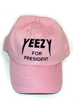 Pink Yeezy Baseball Cap