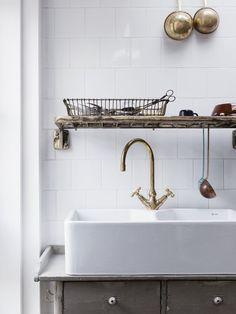 cuisine vintage lavabo ancien