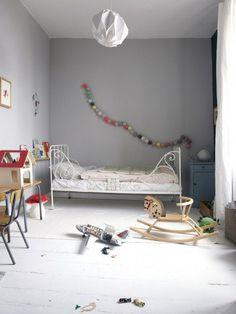 Me encanta esta habitación de niños.