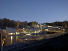 Cocoon-Inspired Galleries - The Crystal Bridges Museum of American Art is Distinctively Designed (GALLERY)