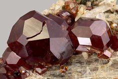 Grossular (Var: Hessonite), Ca3Al2(SiO4)3, Viù Valley, Lanzot Valley, Torino, Piemonte, Italy. Size 8.92 mm. Copyright: Matteo Chinellato