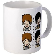 CafePress - Dan and Phil Mugs - Unique Coffee Mug, 11oz Coffee Cup