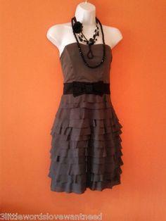 6.25 on Ebay   H & M DECO 20's CHARLESTON FLAPPER VINTAGE INSPIRED DRESS UK 8 US/CAN 6 EUR 36