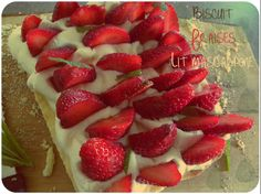 Biscuit fraise mascarpone - Patou & Mary