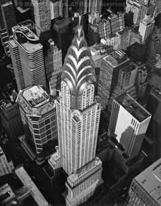 (Chrysler Building, New York City) The Big Apple's classiest Deco delight!  (Photo © Marilyn Bridges / marilynbridges.com)
