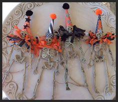 Skeleton Garland Halloween Decoration Halloween by JeanKnee