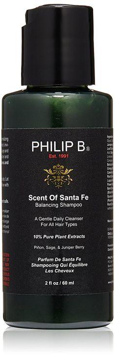 PHILIP B Scent of Santa Fe Balancing Shampoo, 2 fl. oz. *** Visit the image link more details.