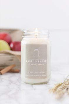40hr FRESH CUT GRASS Scented ECO SOY Glass Jar Votive Candle HOME FRAGRANCE GIFT