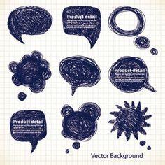 Draft graphics pen line 01 vector Vector misc - Free vector for free download