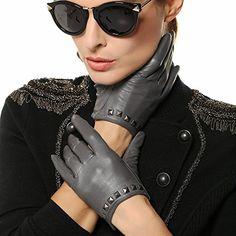 WARMEN Punk Rock Women Genuine Soft Leather Driving Performance Gloves with Rivet (L, Grey) WARMEN http://www.amazon.com/dp/B008JUTBKI/ref=cm_sw_r_pi_dp_.GDKub05GANWY