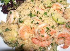 Fitness Magazine does a great job with this easy quinoa and shrimp recipe.