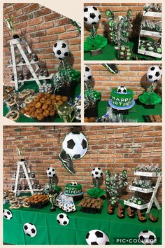 small step ladder on table scape Soccer Birthday Parties, Football Birthday, Soccer Party, Birthday Party Themes, Soccer Baby Showers, Soccer Decor, Festa Party, Sofia Party, Mickey Mouse Parties