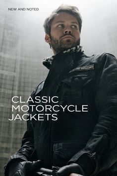 Most motorcycle riders don't want to look like a Power Ranger—or climb into a Cordura onesie. So we've picked out five classic motorcycle jackets that are guaranteed to look good—no matter what bike you ride. See the selection at http://www.bikeexif.com/classic-motorcycle-jackets