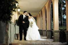 A wedding at The Signature Grand, #Davie, #FL... Very beautiful #wedding #portrait of the #bride and the #groom by #DominoArts Photography (www.DominoArts.com)
