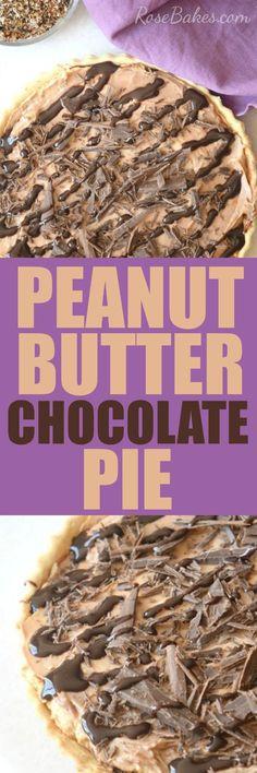 easy-peanut-butter-chocolate-pie-by-rosebakes