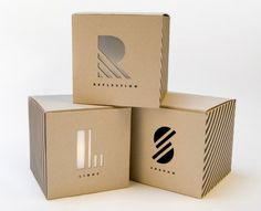 Packaging of reflection, light and shadow by student Chris Ferrante