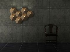 Ambihive- modular light display designed with cardboard. Designed in collaboration with nbt.STUDIO.