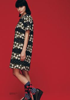Marimekko Fall 2013: Kirsikkatuuli dress