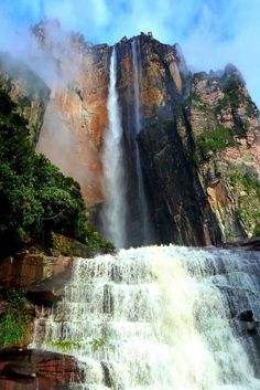 Angel Falls at Canaima National Park in Guayana.
