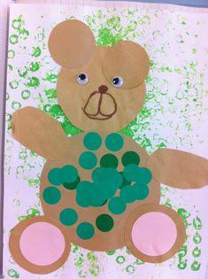 Production art visuel boucle d'or et les trois ours