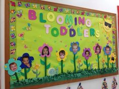 """""""Blooming with Toddler News"""" May News Board"""