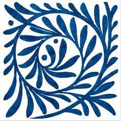 Philip Webb and William De Morgan - Whorls and Swirls Victorian Pattern, Victorian Tiles, White Flower Pictures, Stencils, Delft, Blue Pottery, Blue Leaves, Art Graphique, Arts And Crafts Movement